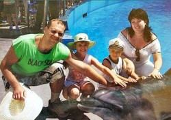 Дмитрий, Вероника, Александр и Ирина Чудаковы
