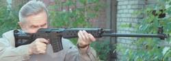 Опытная снайперская винтовка СВК / СВК-С