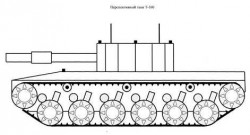 Перспективный танк Т-160