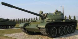 Командирский танк Т-55АК