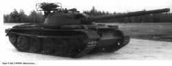 Опытный танк Т-62 с ПТРК «Малютка»