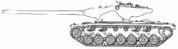 Опытный тяжёлый танк T57