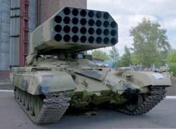 Тяжелая огнемётная система ТОС-1 «Буратино»