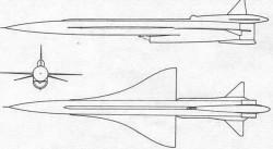 Система дальней беспилотной разведки Ту-139 / ДБР-2 «Ястреб» (СССР)