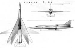 Проект ракетоносца «145» (Ту-145)