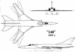 Проект перехватчика «148» (Ту-148)