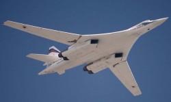 Стратегический бомбардировщик Ту-160 (Россия)