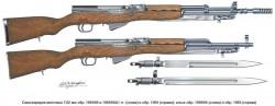 Самозарядные винтовки M59 / M59/66 / M59/66A1