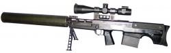 Снайперская винтовка ВКС Выхлоп