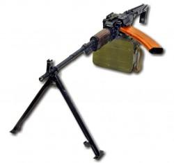 5,45-мм ручной пулемёт ПУ-2 конструкции М.Е.Драгунова и В.М.Калашникова