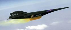 Экспериментальный беспилотный ГЛА X-43A Hyper-X