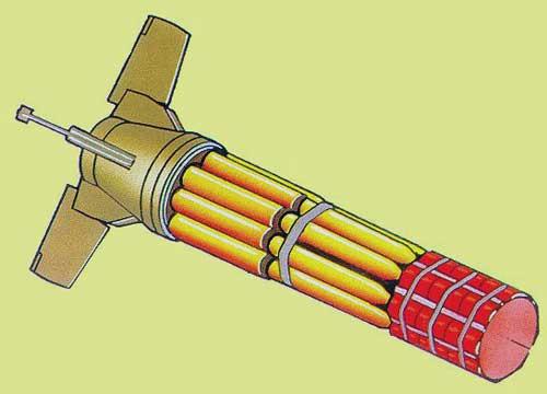 Авиационная кассетная бомба daacm сша