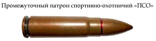Патрон 9x39 спортивно-охотничий «ПСО»