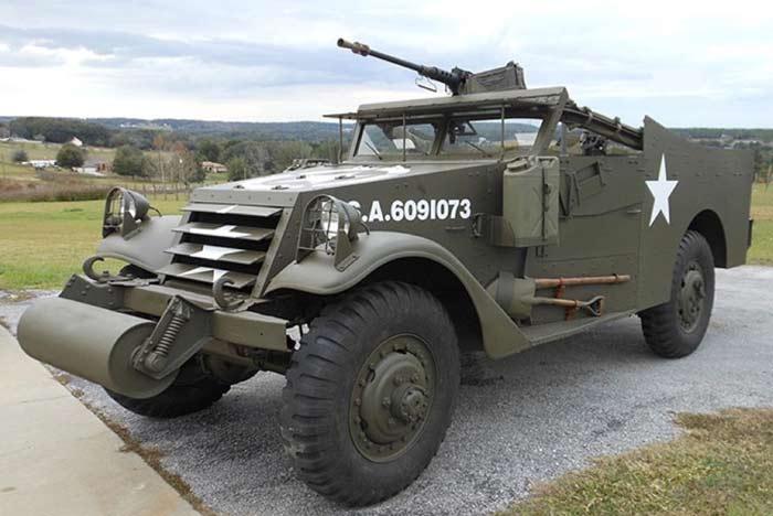 Лёгкий бронетранспортер M3A1 «Scout Car»