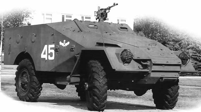 Химический разведывательный бронетранспортер БТР-40ХР