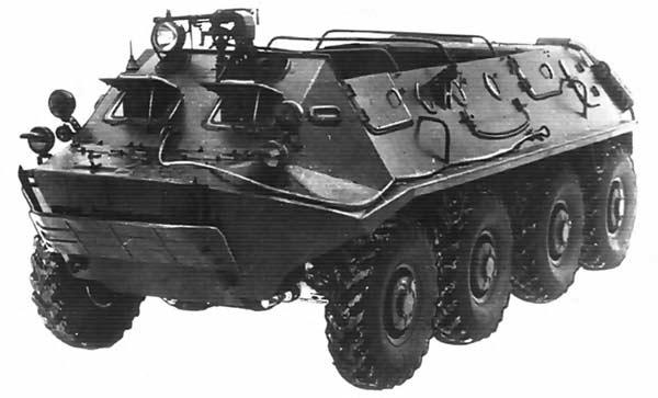 Бронетранспортёр БТР-60П (ГАЗ-49)