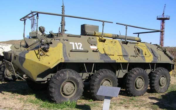 Командно-штабная машина Р-145БМ «Чайка»