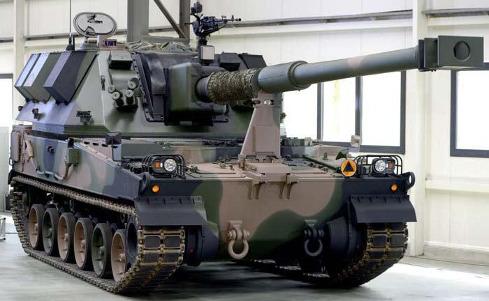 Самоходная артиллерийская установка AHS «Krab»