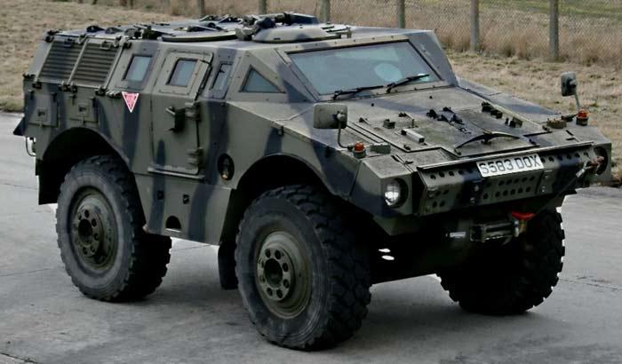 Бронеавтомобиль Alvis «Scarab»