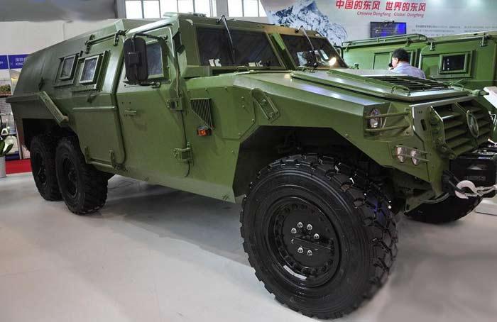 Семейство бронированных машин Dongfeng Armoured Vehicl 6X6
