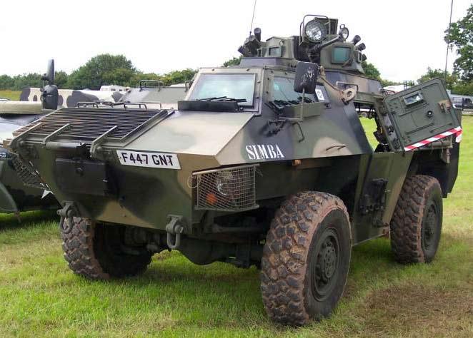 Бронеавтомобиль GKN FS-100 «Simba»