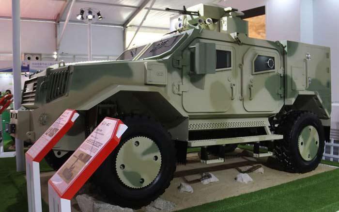 Многоцелевой бронеавтомобиль Furious Lion Light