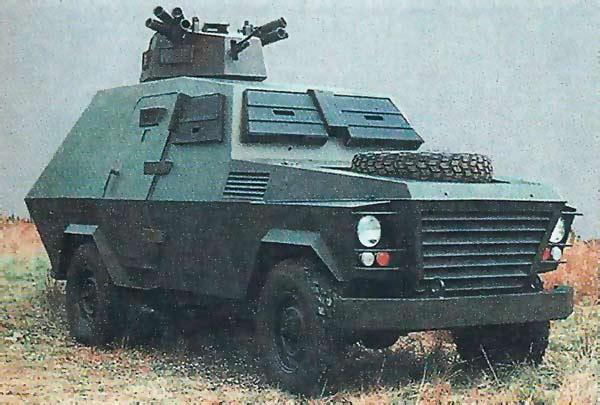 Бронеавтомобили Hotspur 4284 «Borderer» и 6484 «Hussar»