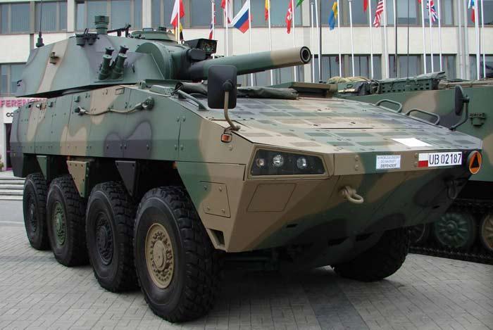 Самоходный миномет M120K «RAK»
