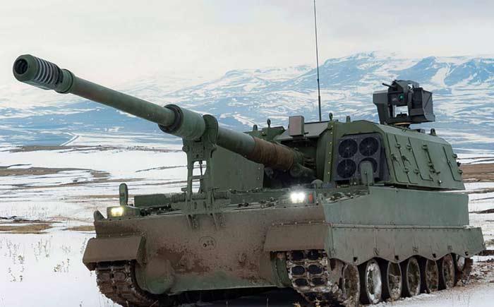 Самоходная артиллерийская установка T-155 Firtina II