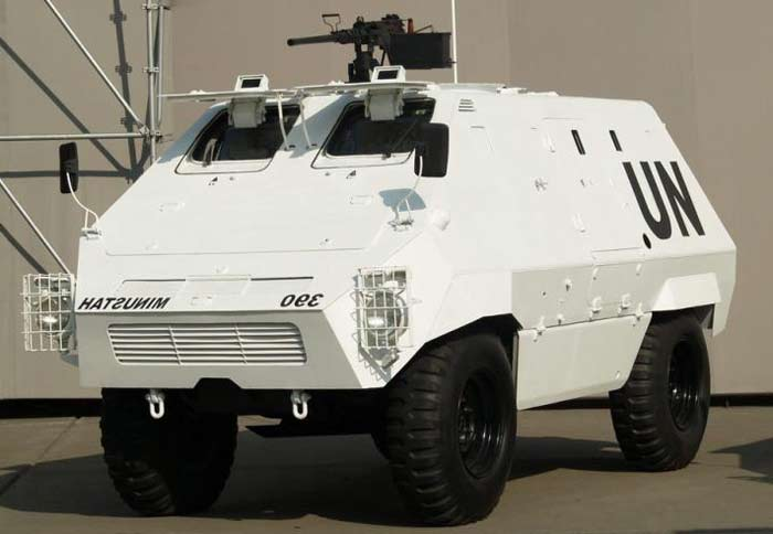 Колёсный бронетранспортёр Thyssen-Henschel UR-416