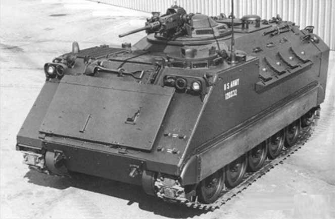 Боевая машина пехоты XM765 AIFV
