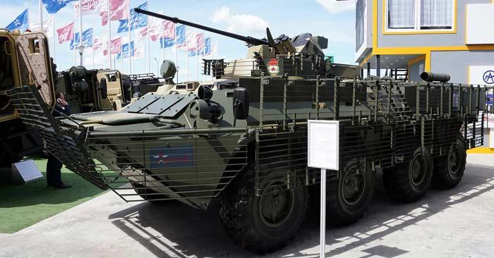 Бронетранспортер БТР-82АТ