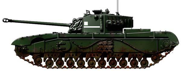 Опытный танк A43 Black Prince (Великобритания)
