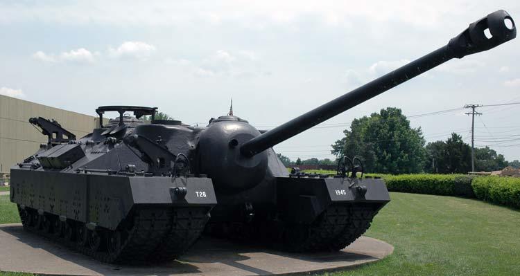 Опытный тяжёлый танк t28 t95 сша