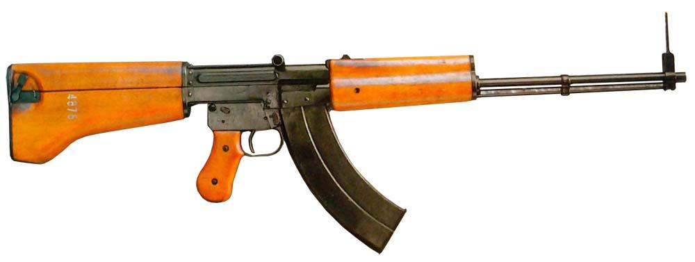 Экспериментальное оружие С.Г.Симонова