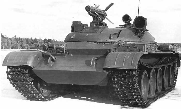 Опытный истребитель танков «Объект 150» с ПТРК «Дракон»