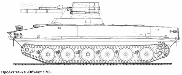 Опытный танк «Объект 170»
