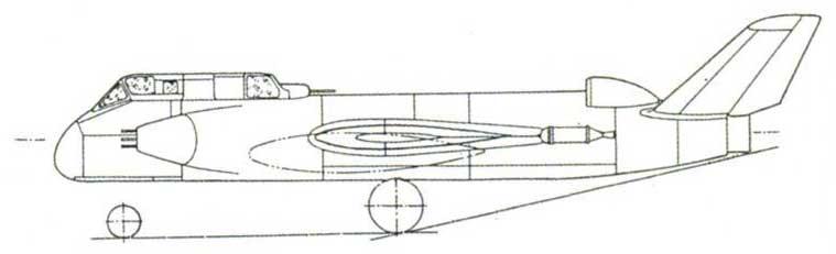 Опытный штурмовик Су-14 ВК-1