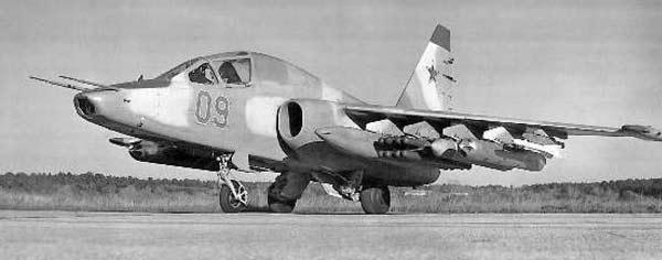 Опытный штурмовик Су-25Т / Су-25ТМ / Су-39