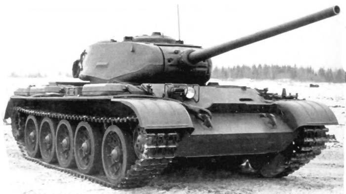 Танк Т-44М представлял собой