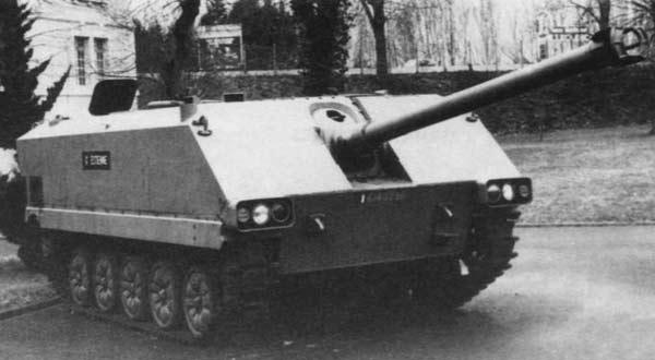 Опытный истребителя танков AMX-10M ACRA