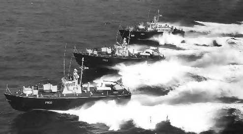 Опытный торпедный катер Dark Hunter