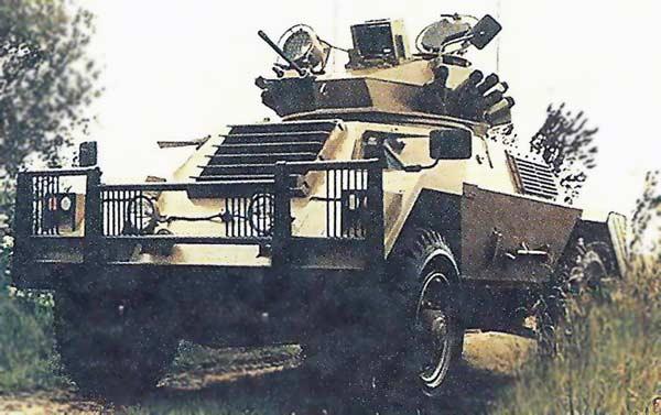 Бронеавтомобиль Alvis Ferret 80