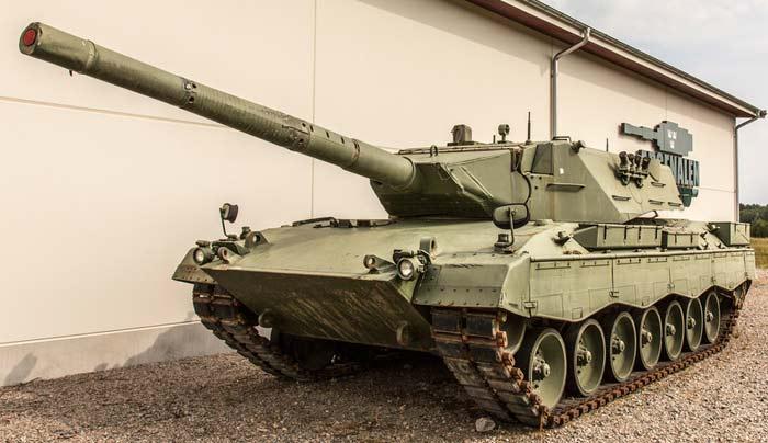Опытный танк «Leopard 2K»