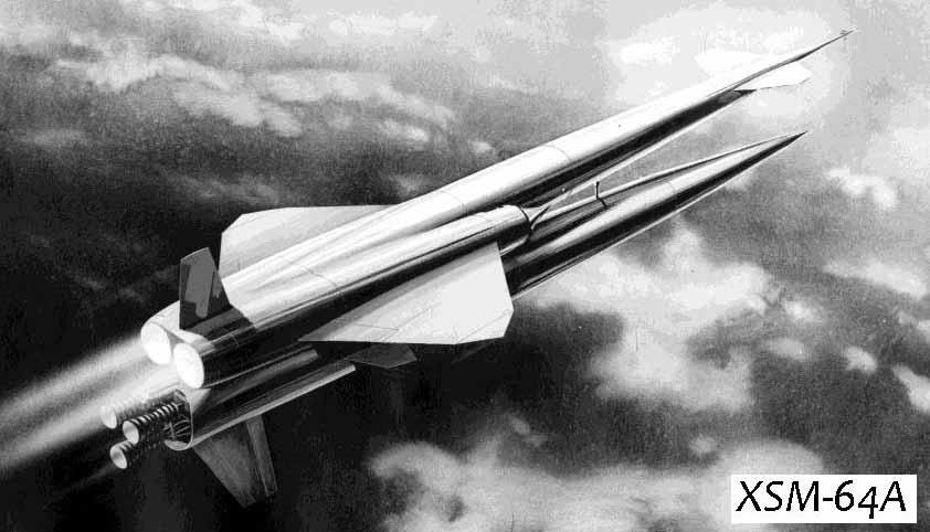 Крылатая ракета North American Navaho G-38 (XSM-64A, SSM-A-6, SM-64A)