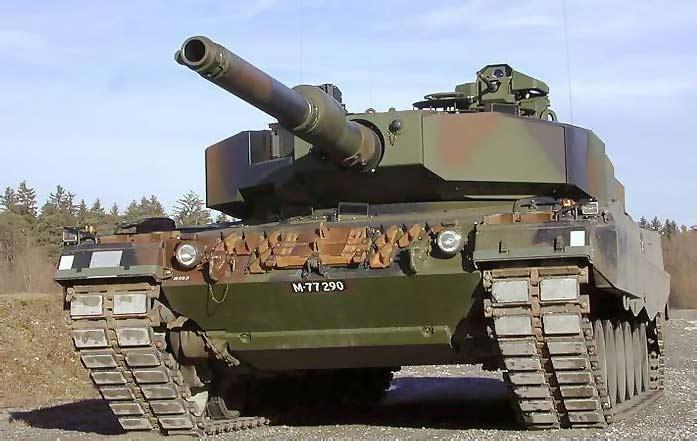 Опытный танк Pz.87WE