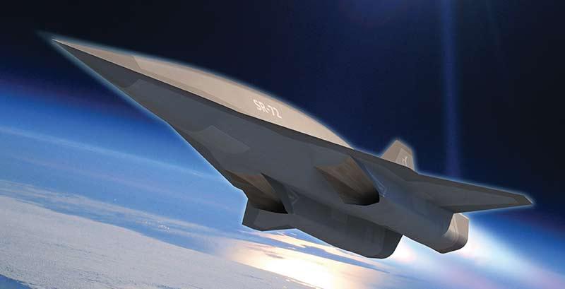 Перспективный самолёт Lockheed Martin SR-72