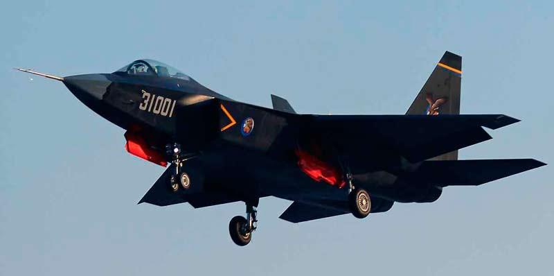 Перспективный истребитель Shenyang FC-31