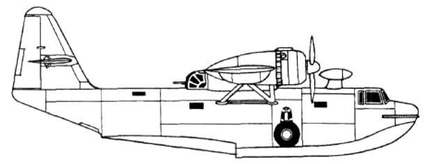Опытный самолет-амфибия ТА-1