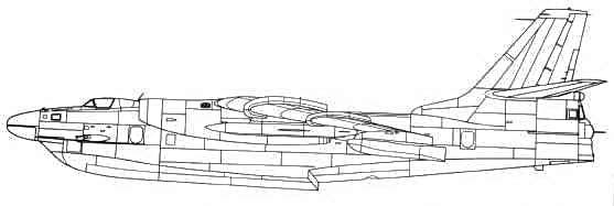 Проект ракетоносца Бе-10Н